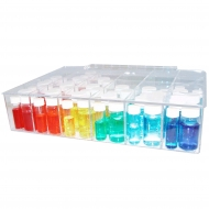 Acrylic Compartment Box, 24 Space