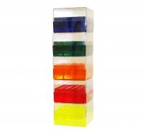 Cryo-Freeze Storage Boxes, 25 Capacity, Assorted, 5/PK