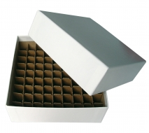 Micro-Tube Storage Box Set, Cardboard w/ Partition, 81 Tube