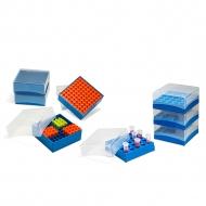 Tube Freezer Boxes, 1.5-2.0ml, 4/CS