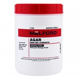 Agar, Granulated, 1 KG