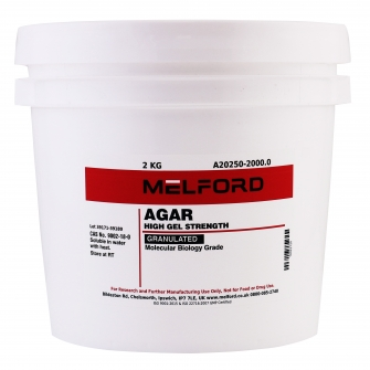 Agar, Granulated, 2 KG