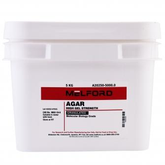 Agar, Granulated, 5 KG
