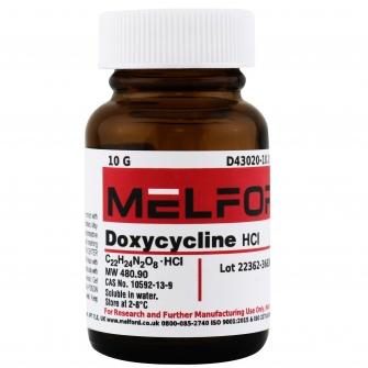 Doxycycline HCl, 10 G