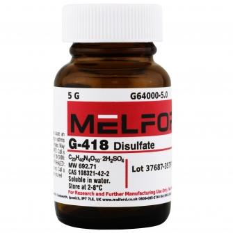 G-418 Disulfate, 5 G