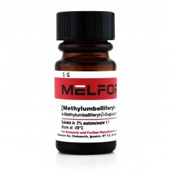 4-Methylumbelliferyl-B-D-glucopyranoside Monohydrate, 1 G