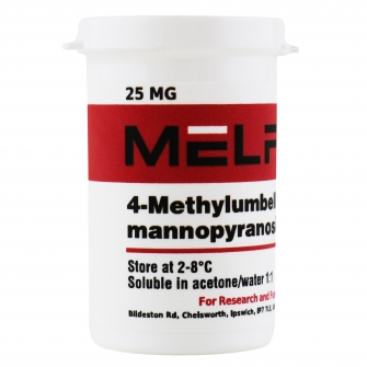 4-Methylumbelliferyl-α-D-mannopyranoside 25MG