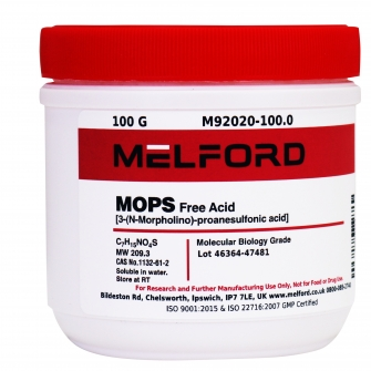 MOPS, Free Acid, 100 G