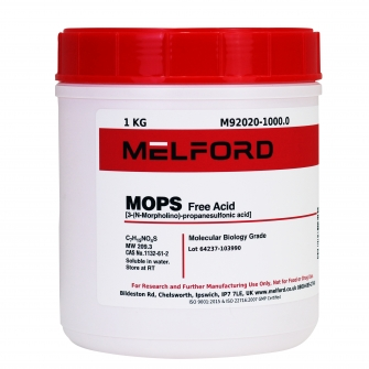MOPS, Free Acid, 1 KG