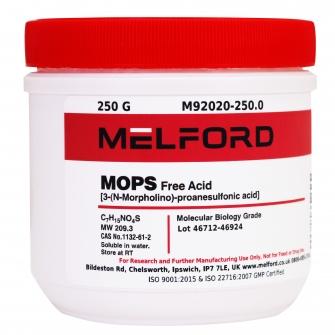 MOPS, Free Acid, 250 G