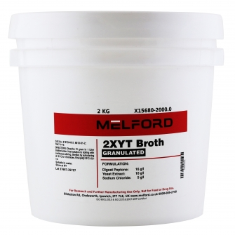 2XYT Broth, Granulated, 2 KG