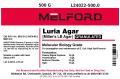 Miller's LB Agar, Granulated, 500 G