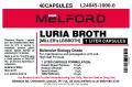 Miller's LB Broth, 25G Capsules, 1 KG