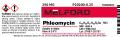 Phleomycin, 250 MG