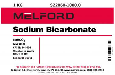 S22060-1000 0 - Sodium Bicarbonate, 1 Kilogram
