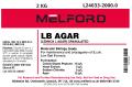 LB Agar, Low Salt Formula, Granulated, 2 KG