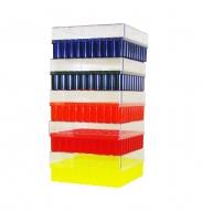 Cryo-Freeze Storage Box, 100 Capacity, Assorted, 5/PK