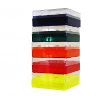 Cryo-Freeze Storage Box, 81 Capacity, Assorted, 5/PK