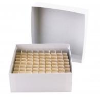 Micro-Tube Storage Box Set, Cardboard w/ Partition, 81 Tube