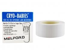 Cryo-Babies, Roll, 1.5-2.0ml, White, 1000/pk