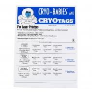 Cryo-Babies, Laser, 1.5ml, White, 1700/pk