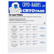 Cryo-Babies, Laser, 0.5ml, White, 2380/pk