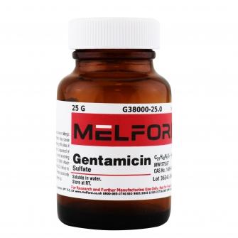 Gentamicin Sulfate, 25 G