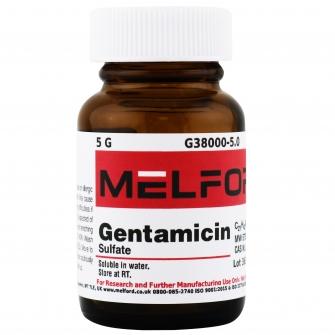 Gentamicin Sulfate, 5 G