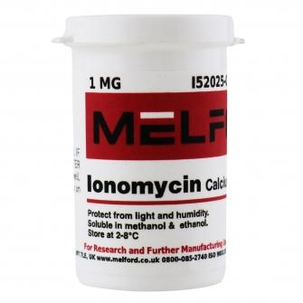 Ionomycin, Calcium, 1 MG