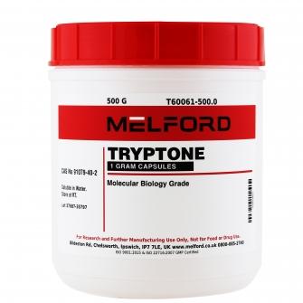 Tryptone, Capsules, 500 G