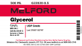 Glycerol, 500 ML