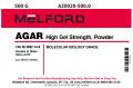 Agar, High Gel Strength, Powder, 500 G