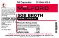SOB Broth, Capsules, 500 G