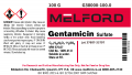 Gentamicin Sulfate, 100 G
